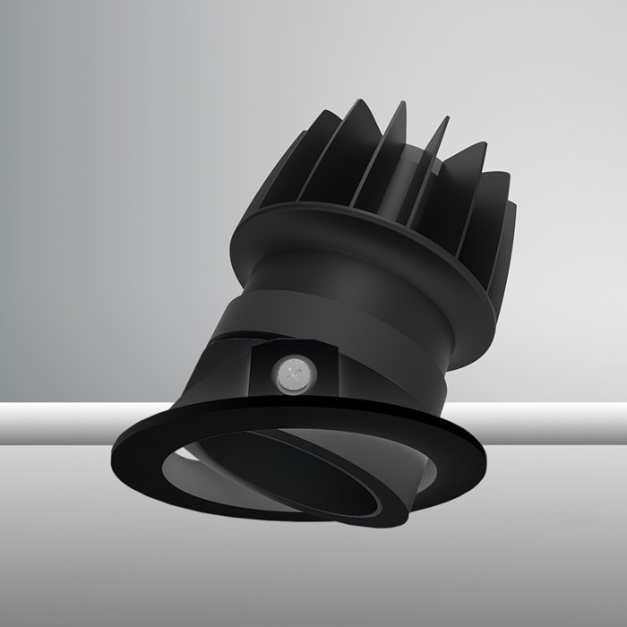 DLD Atlas Baffle LED IP44 Adjustable Recessed Downlight - Next Day Delivery| Image:1