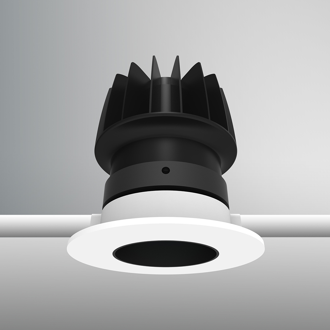 DLD Atlas Baffle LED IP44 Recessed Downlight - Next Day Delivery