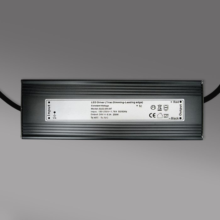 **DLD 24V 200W TRIAC Dim IP66 Constant Voltage Driver**| Image : 1