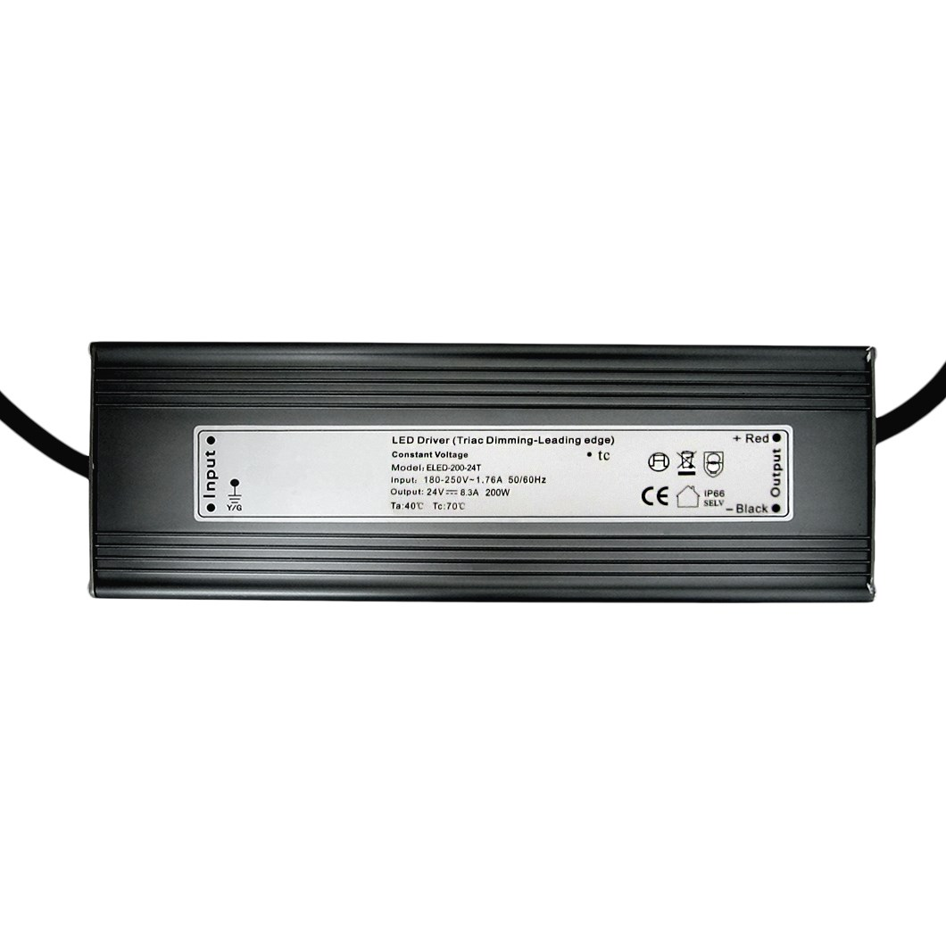 **DLD 24V 200W TRIAC Dim IP66 Constant Voltage Driver**| Image:1
