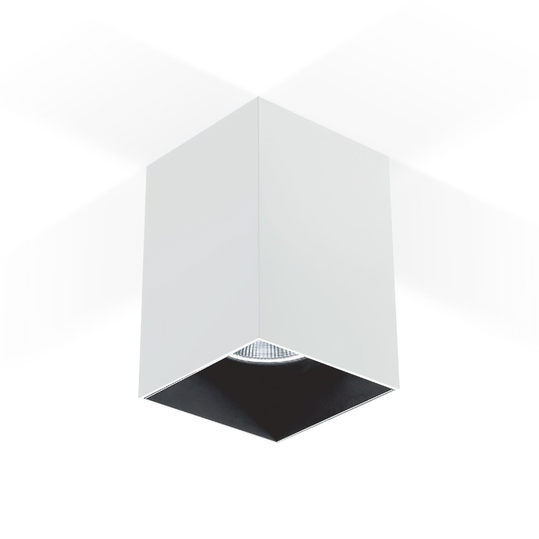 CLEARANCE Darklight Bellona 80 Surface Mounted Spot Light | Image:1