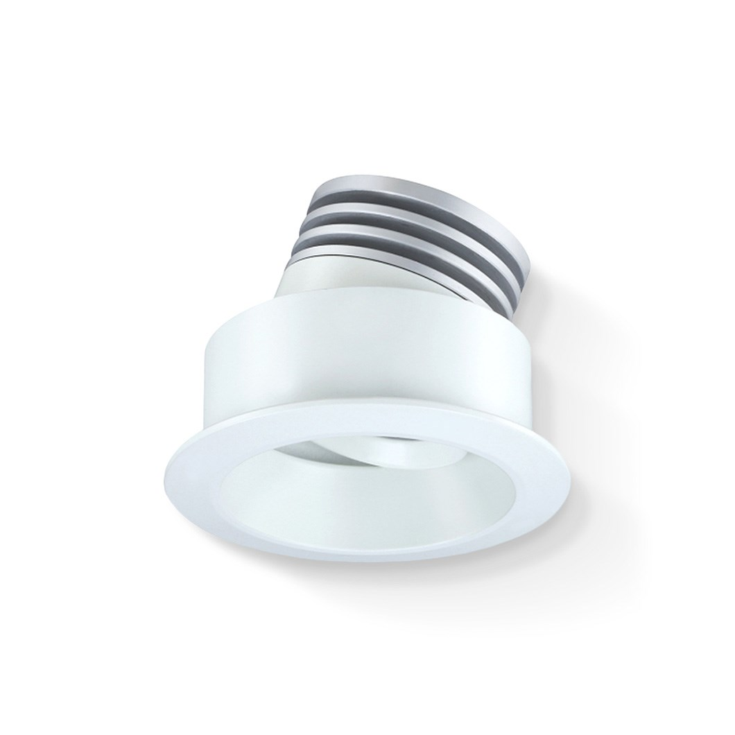 CLEARANCE Darklight Jupiter Mini LED 2700K 15D Recessed Adj. Downlight | Image:1