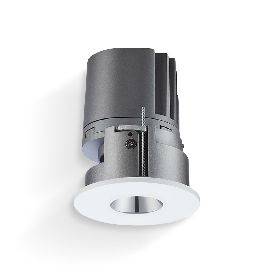 CLEARANCE Darklight Mercury LED IP44 Pin Hole Recessed Downlight | Image:1
