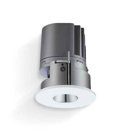 CLEARANCE Darklight Mercury LED IP44 Pin Hole Recessed Downlight