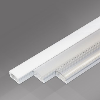DLD Topline 8 Linear LED Profile - Next Day Delivery
