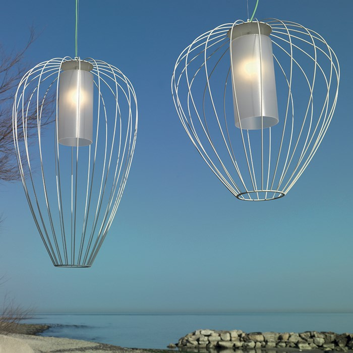 Karman Cell Outdoor Pendant| Image : 1