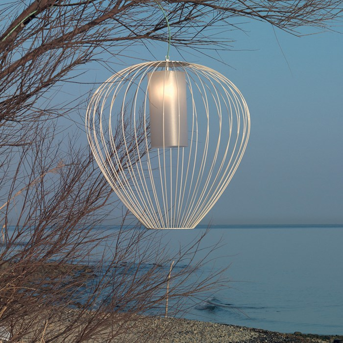 Karman Cell Outdoor Pendant| Image:1