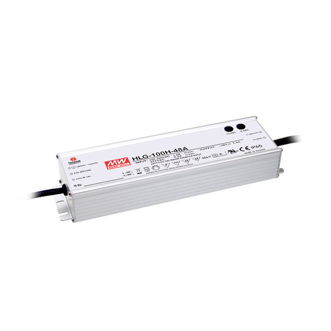 **Mean Well 24V 100W 1-10V Dim IP67 Constant Voltage Driver**| Image : 1