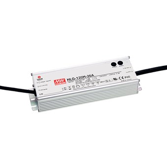 **Mean Well 24V 120W 1-10V Dim IP67 Constant Voltage Driver**