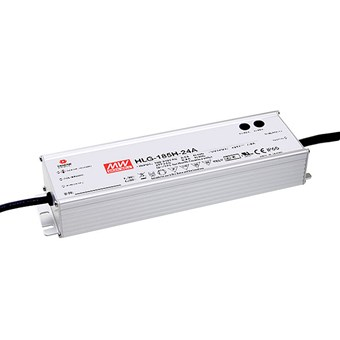 **Mean Well 24V 185W 1-10V Dim IP67 Constant Voltage Driver**