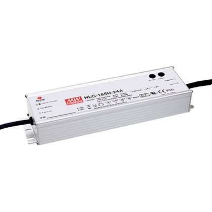 **Mean Well 1400mA 185W 1-10V Dim IP67 Constant Current Driver**