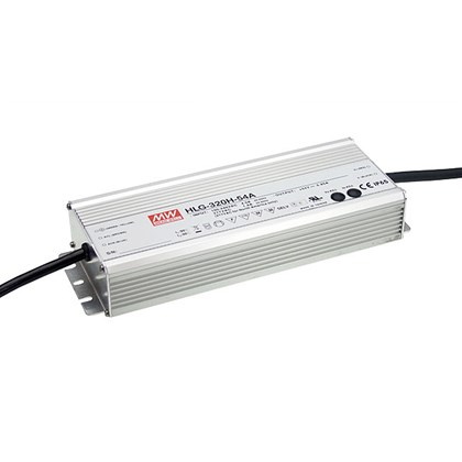 **Mean Well 24V 320W 1-10V Dim IP67 Constant Voltage Driver**