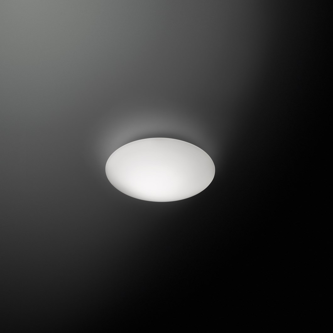 Vibia Puck Single Wall/Ceiling Light| Image : 1