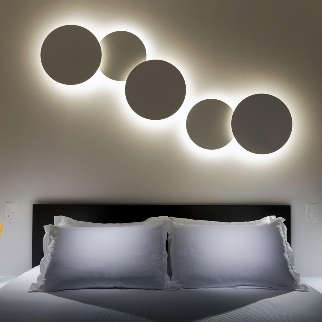 Vibia Puck Wall Art Wall Light Darklight Design Lighting Design