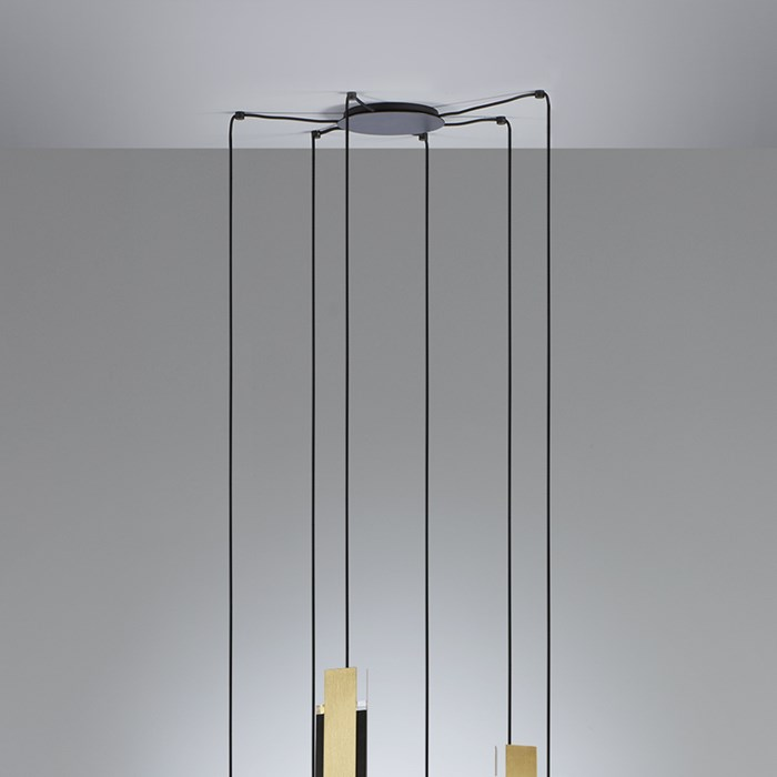Tooy Excalibur LED 6 Chandelier Pendant| Image:1