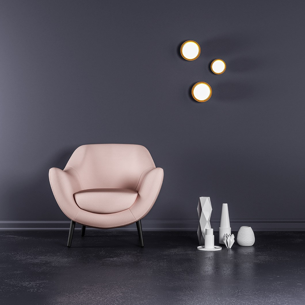Tooy Muse Wall / Ceiling Light| Image:1