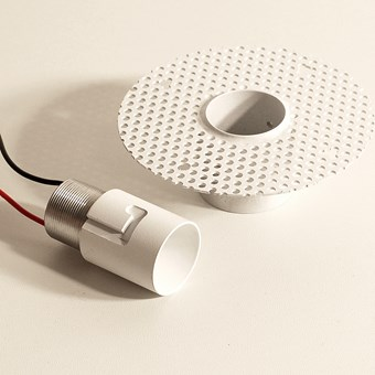 Flexalighting Zero R2 IP44 Plaster In Downlight