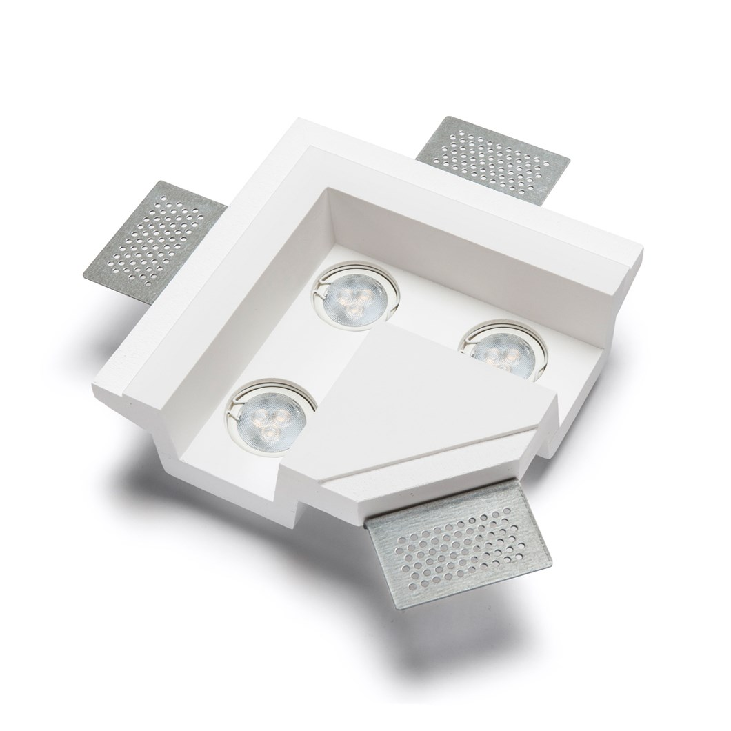 9010 4191K Plaster In Recessed L Connection Ceiling Light| Image : 1