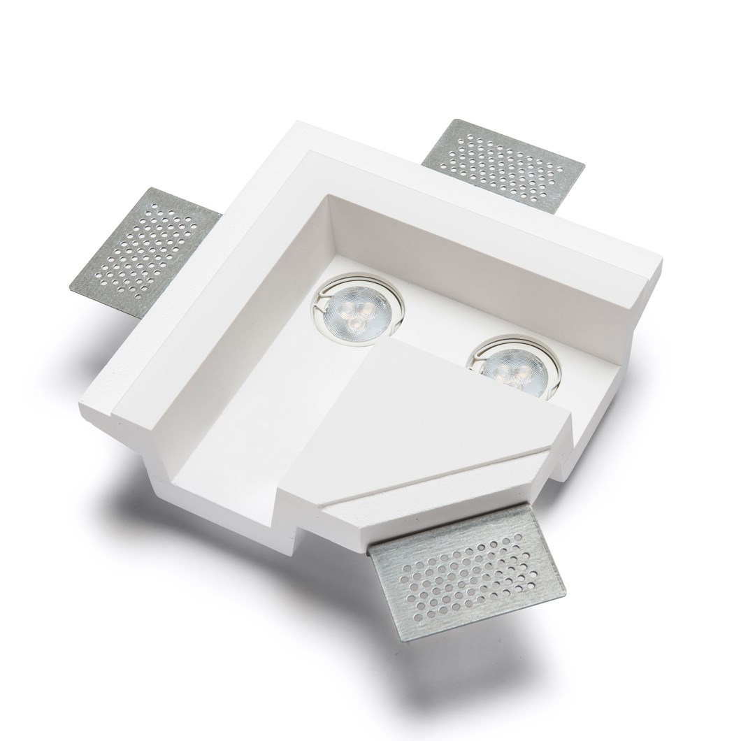 9010 4191X Plaster In Recessed L Connection Ceiling Light| Image : 1