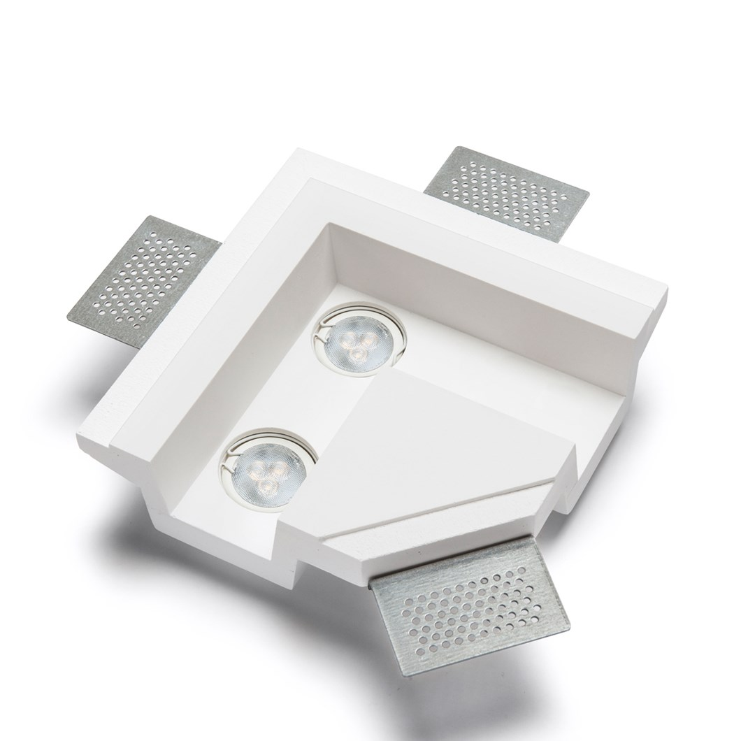 9010 4191Y Plaster In Recessed L Connection Ceiling Light| Image : 1