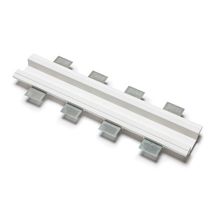 9010 4192I Plaster In Recessed Straight Connector