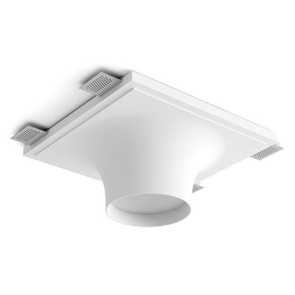 9010 Crateri 8935A Plaster In Ceiling Light
