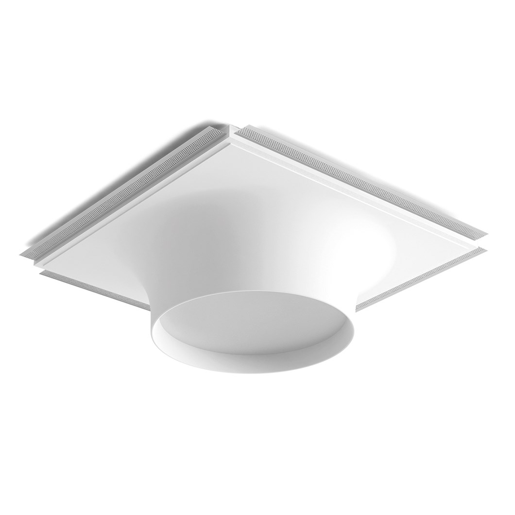 9010 Crateri 8935B Plaster In Ceiling Light| Image : 1