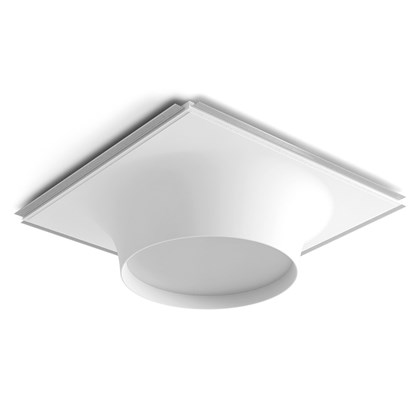 9010 Crateri 8935C Plaster In Ceiling Light