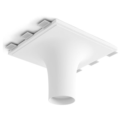 9010 Crateri 8935D Plaster In Ceiling Light