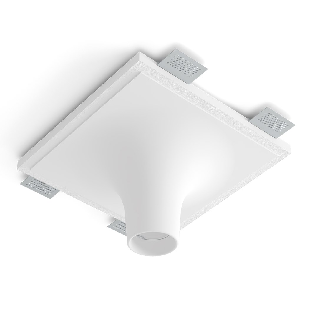 9010 Crateri 8935G Plaster In Ceiling Light| Image : 1