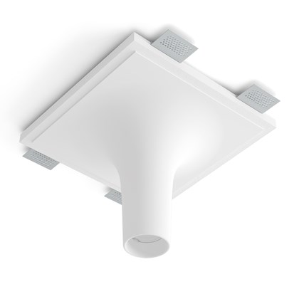 9010 Crateri 8935H Plaster In Ceiling Light