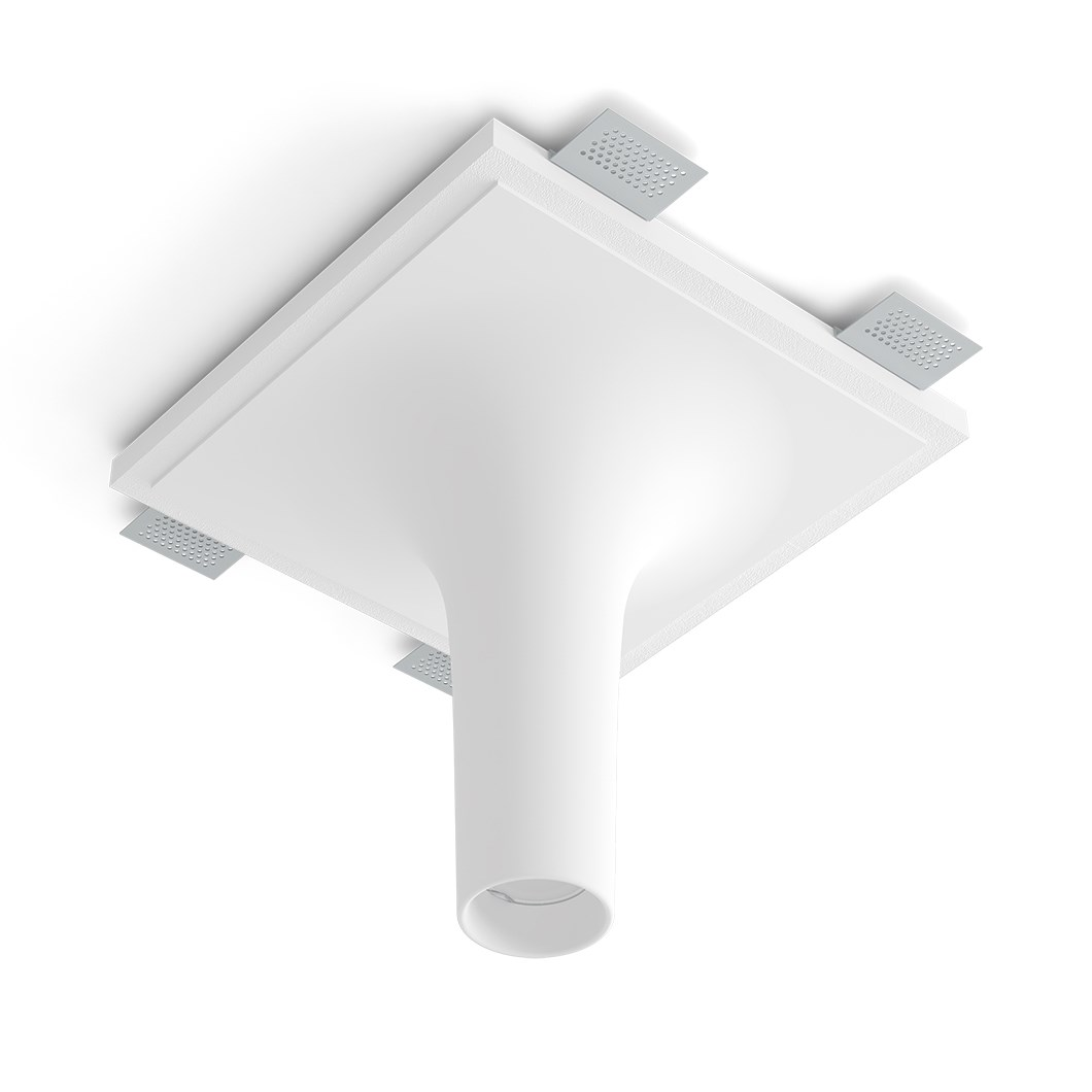 9010 Crateri 8935I Plaster In Ceiling Light| Image : 1