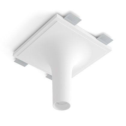 9010 Crateri 8935I Plaster In Ceiling Light