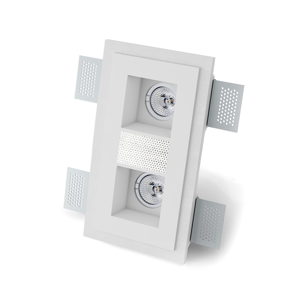 9010 Sonore M004A Plaster In Ceiling Spotlight With Loudspeaker| Image : 1