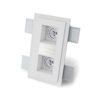 9010 Sonore M004A Plaster In Ceiling Spotlight With Loudspeaker