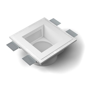 9010 Sonore M006 Plaster In Ceiling Light With Loudspeaker