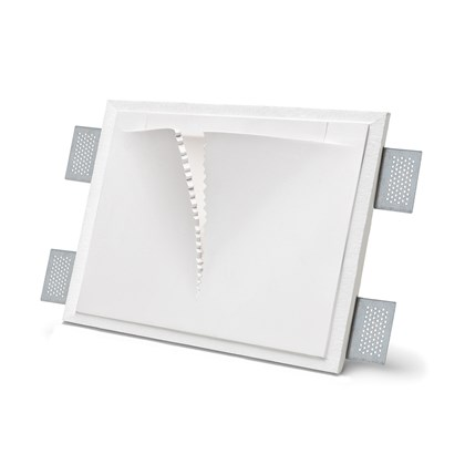 9010 Vele 2371A Plaster In Recessed Wall Light