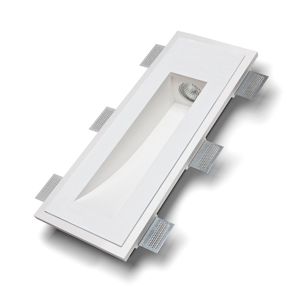 9010 Volte 2414B Plaster In Recessed Wall Light| Image : 1
