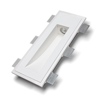 9010 Volte 2414B Plaster In Recessed Wall Light