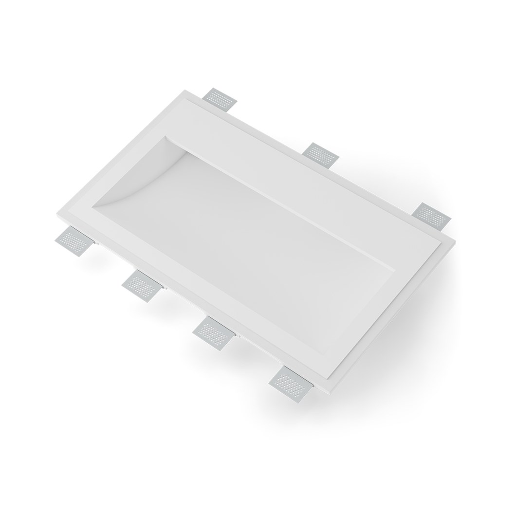 9010 Volte 2416B Plaster In Recessed Wall Light| Image : 1