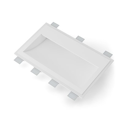 9010 Volte 2416B Plaster In Recessed Wall Light