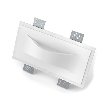 9010 Infuori 2619 Plaster In Recessed Wall Light