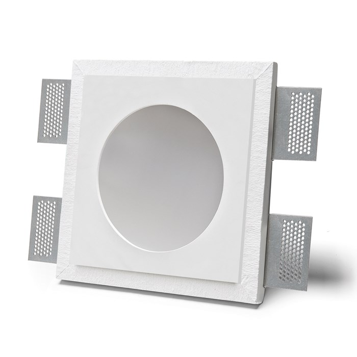 9010 Master 4044B IP44 Plaster In Recessed Ceiling Light| Image : 1