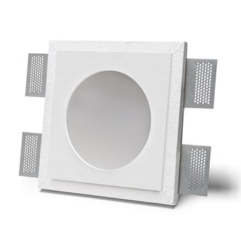 9010 Master 4044B IP44 Plaster In Recessed Ceiling Light