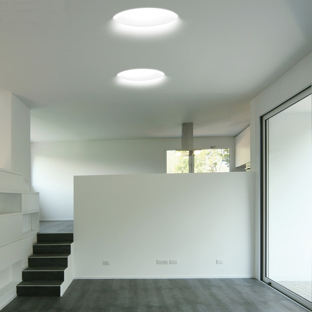 9010 Bolle 4118B Plaster In Recessed 240V Ceiling Light| Image:1