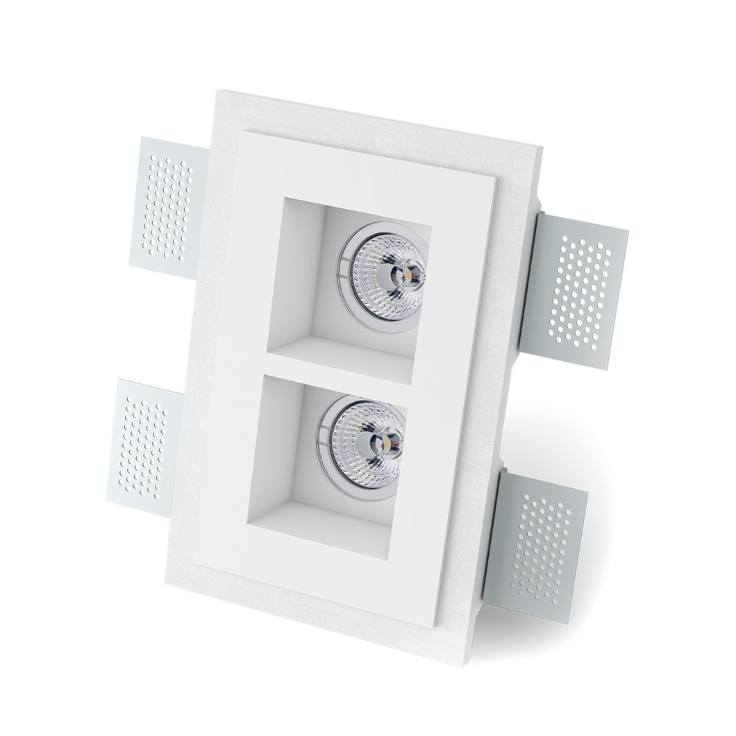 9010 Basic 4180A Plaster In Recessed Ceiling Light| Image : 1