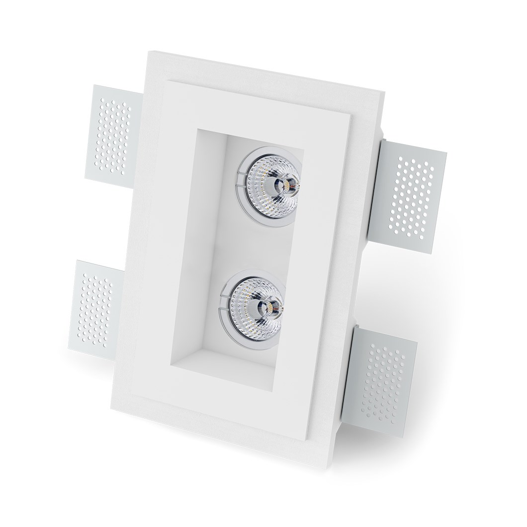 9010 Basic 4210 Plaster In Downlight| Image : 1