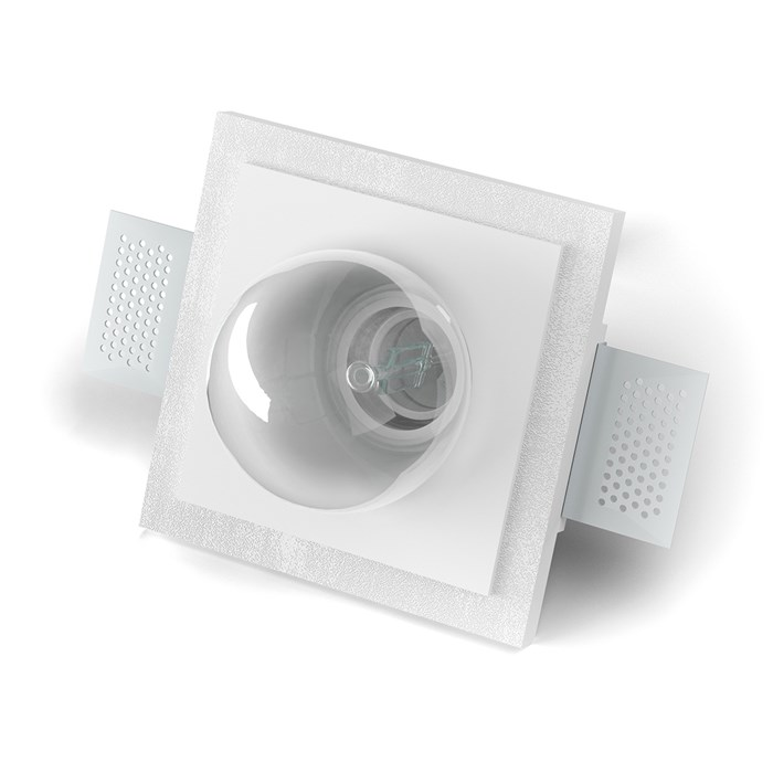9010 Master 4218A Plaster In Ceiling Light| Image : 1