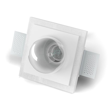 9010 Basic 4218A Plaster In Wall Light