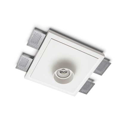 9010 Crateri 8935L Plaster In Ceiling Light